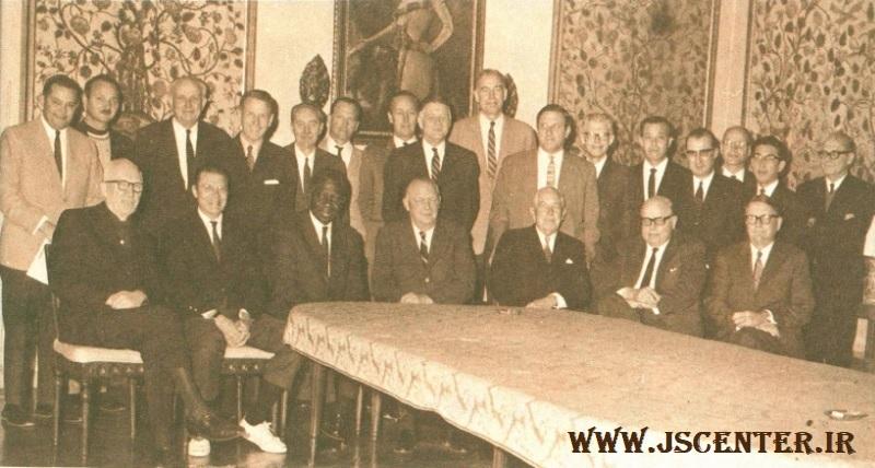 افراد شرکتکننده در کنفرانس بلاجیوی 1969