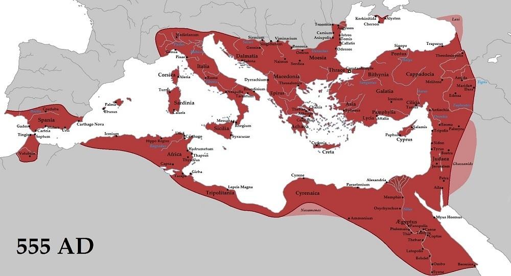 امپراتوری بیزانس یا امپراتوری روم شرقی