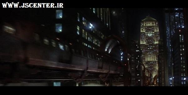 تلاش رأس الغول برای کوبیدن قطار به برج وین