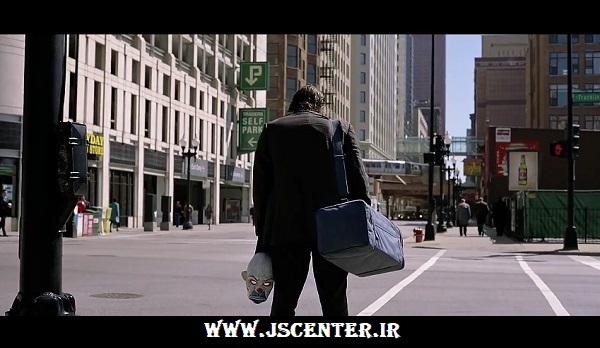 حمله جوکر به بانک