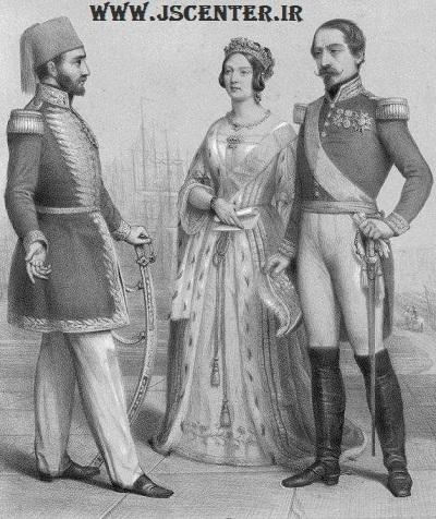 سلطان عبدالمجید و ملکه ویکتوریا و ناپلئون سوم
