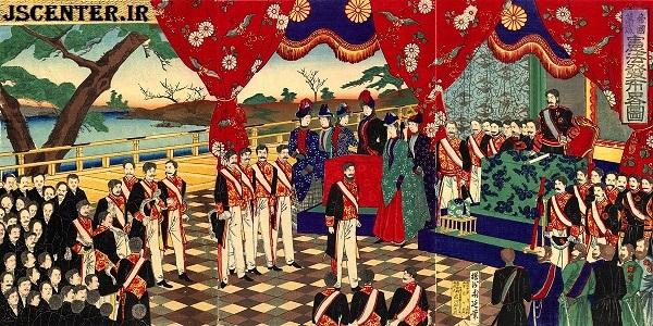 مراسم اعلام قانون اساسی میجی