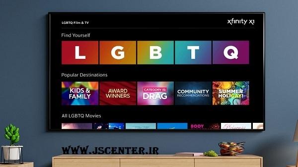 نشان همجنسبازی در دستهبندی کانالها