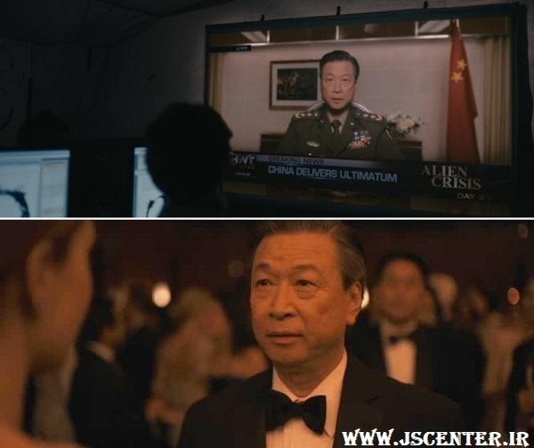 ژنرال شانگ در فیلم ورود