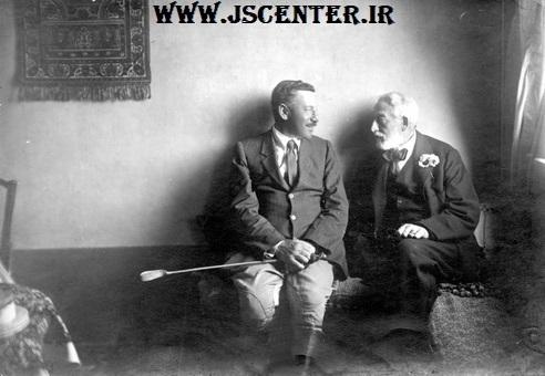 ادموند روچیلد و هربرت ساموئل 1925