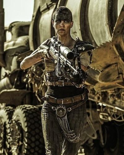 شارلیز ترون در نقش فیوریوسا