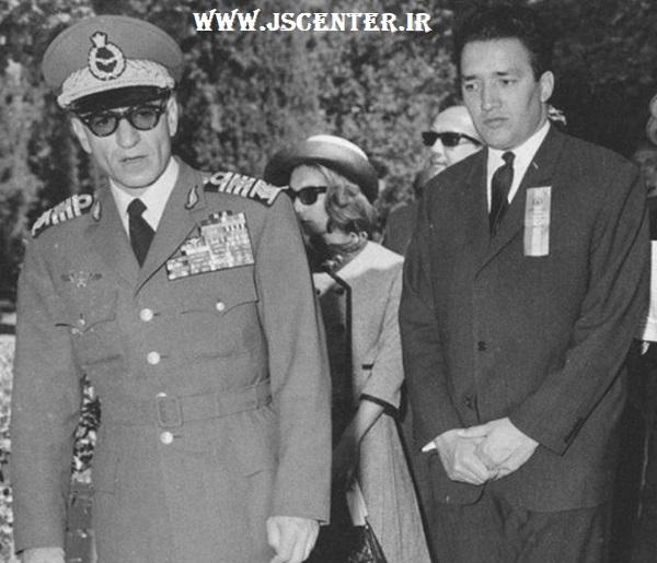 علینقی عالیخانی و محمدرضا شاه