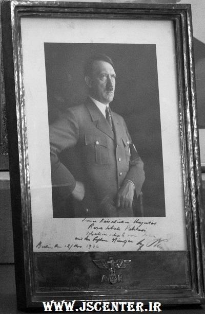 هدیه هیتلر به رضا خان