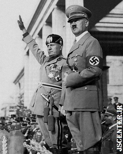 هیتلر و موسولینی