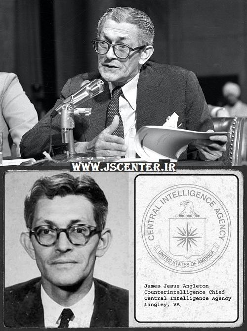 جیمز انگلتون رئیس سازمان سیا