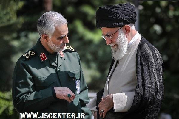 حاج قاسم سلیمانی و امام خامنهای