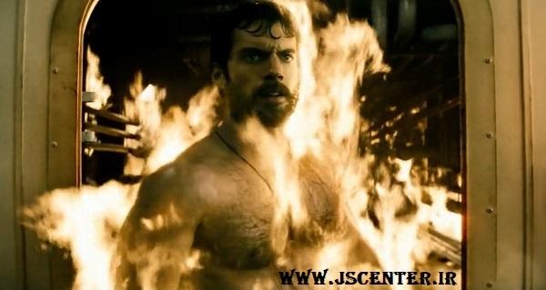 سوپرمن در آتش