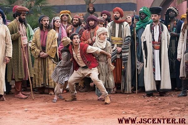 فضای عربی اسلامی فیلم علاءالدین