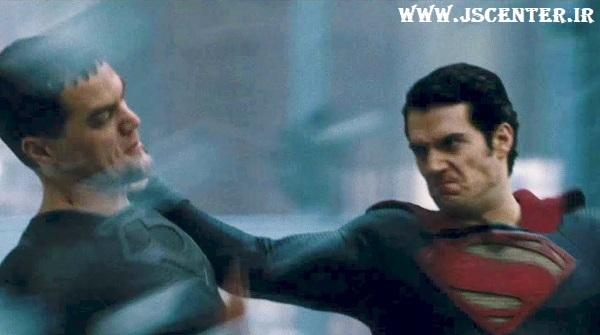 مبارزه سوپرمن با ژنرال زاد ضدمسیح