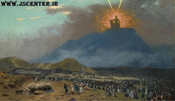 حضرت موسی در کوه سینا