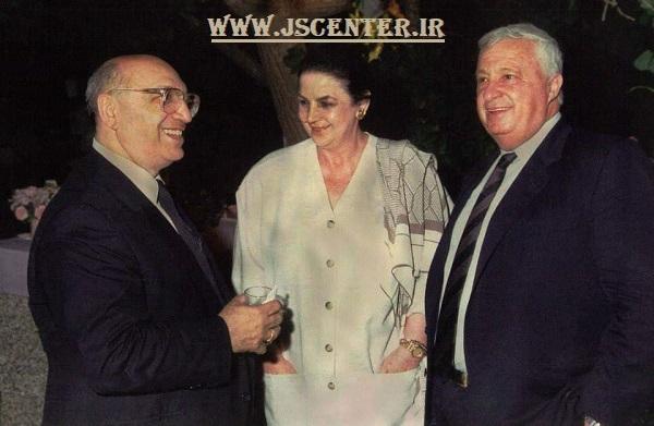 یعقوب نیمرودی و آریل شارون