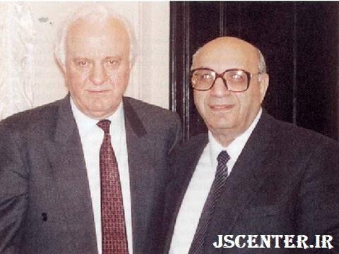 یعقوب نیمرودی و ادوارد شواردنادزه