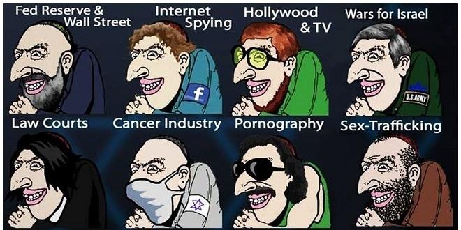 یهودیانی که هالیوود و رسانهها را اداره میکنند
