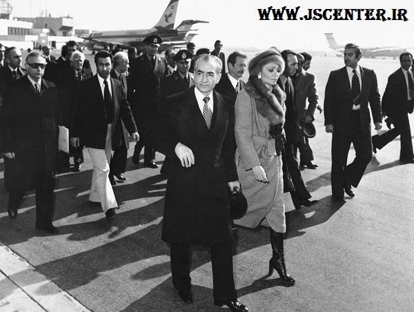 فرار محمدرضا پهلوی و فرح
