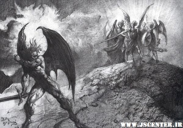 جنگ خیر و شر و فرشتگان و شیاطین