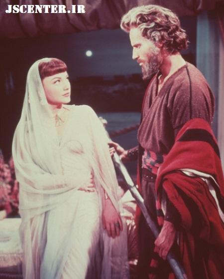 موسی و نفرتیتی در ده فرمان