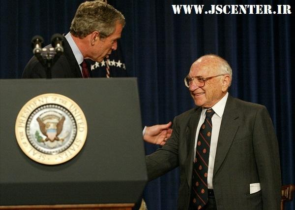 جرج بوش و میلتون فریدمن