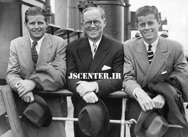 جوزف کندی و جان اف کندی