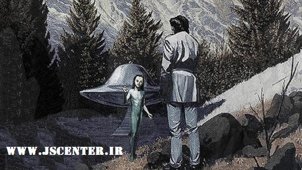 دیدار رائل با الوهیم در سفینه فضایی