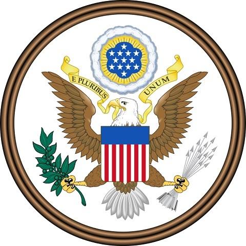 طرف اصلی نشان ملی آمریکا