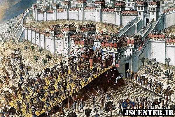 محاصره اورشلیم در 10 طوت توسط بختالنصر