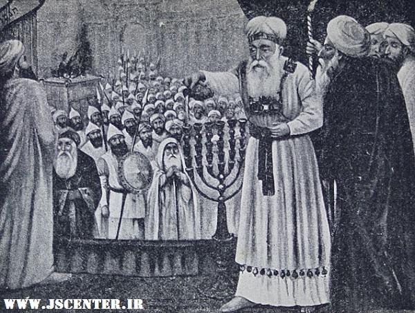 کاهن اعظم و روغن منوره