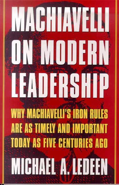 اصول ماکیاولیسم در رهبری جهانی امروز
