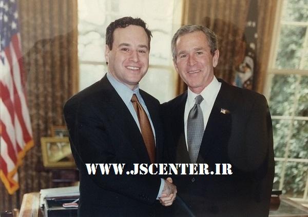 جورج بوش و دیوید فروم مبدع محور شرارت