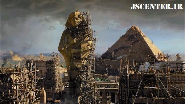 ساخت اهرام مصر توسط یهودیان