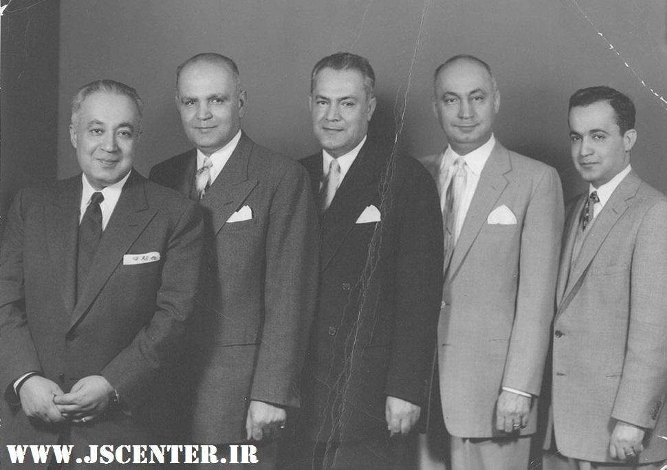 عکس حبیبالله القانیان و برادرانش
