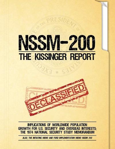 NSSM200 سند جنگ جهانی جمعیت