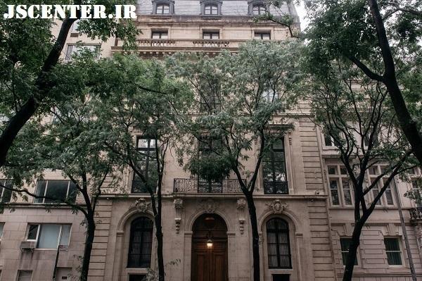 خانه مجلل جفری اپستین در نیویورک