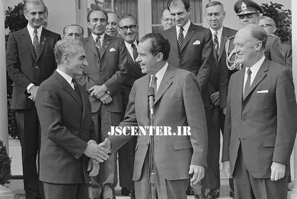 ریچارد نیکسون و محمدرضا پهلوی