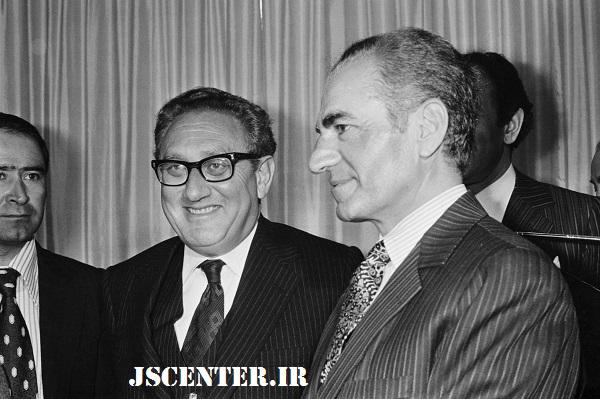 هنری کیسینجر و محمدرضا پهلوی