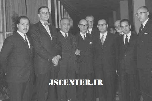 شجاعالدین شفا و ریچارد فرای و سید حسین نصر
