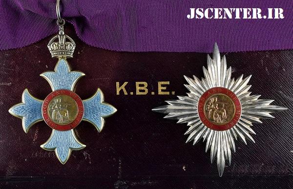 نشان شوالیه و شهسوار فرمانده امپراتوری بریتانیا