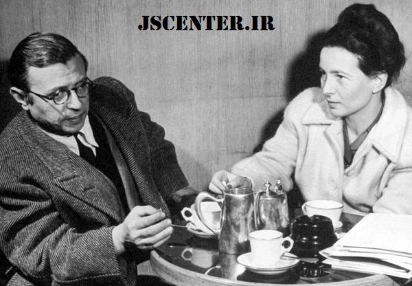 ژان پل سارتر و سیمون دوبوار