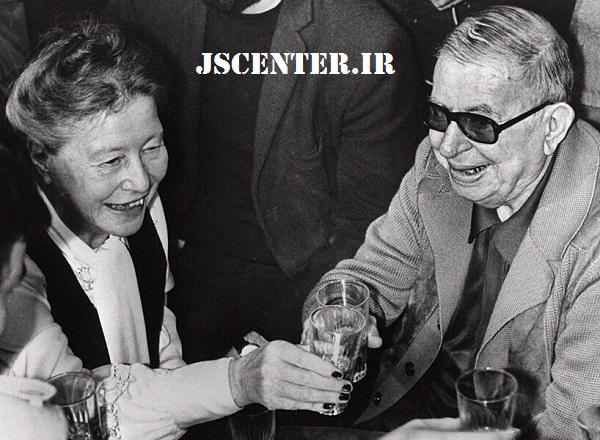 ژان پل سارتر و سیمون دوبووار