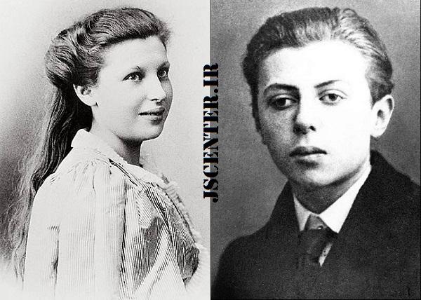 ژان پل سارتر و مادرش ماری شوایتزر