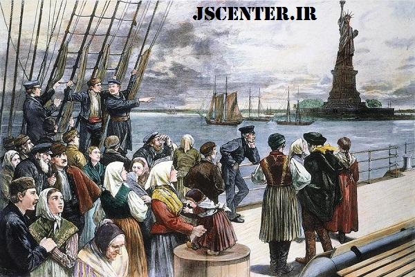 یهود در ایالات متحده و مهاجرت یهودیان