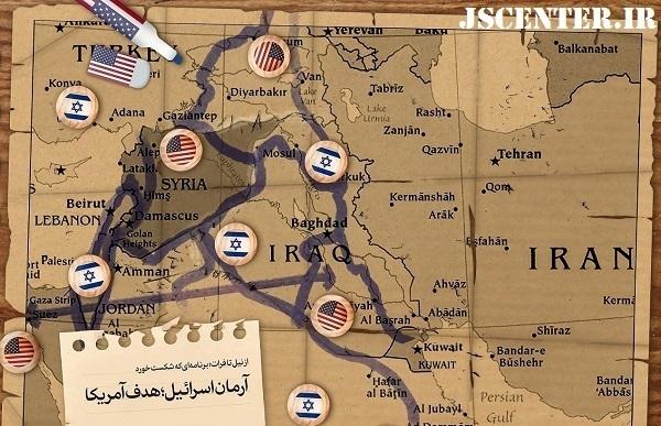آرمان اسرائیل از نیل تا فرات