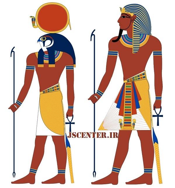 فرعون و رع خدای خورشید و آفتاب