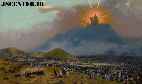 نزول تورات و ده فرمان در شاووعوت