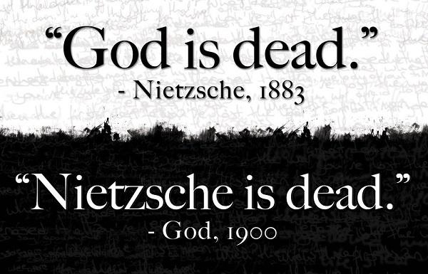 نیچه گفت خدا مرده است