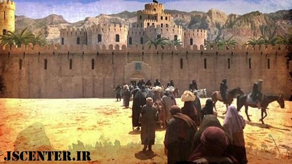 حضور یهود بنیقریظه در مدینه